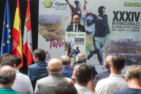 Más de un centenar de tenistas estarán en El Espinar