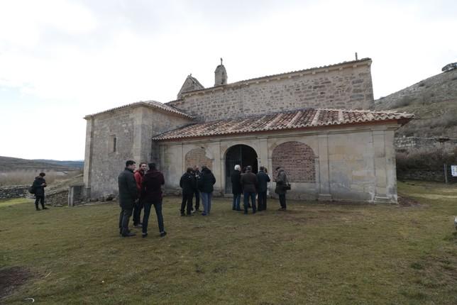 La Junta restaura la cubierta de la iglesia de Santa María