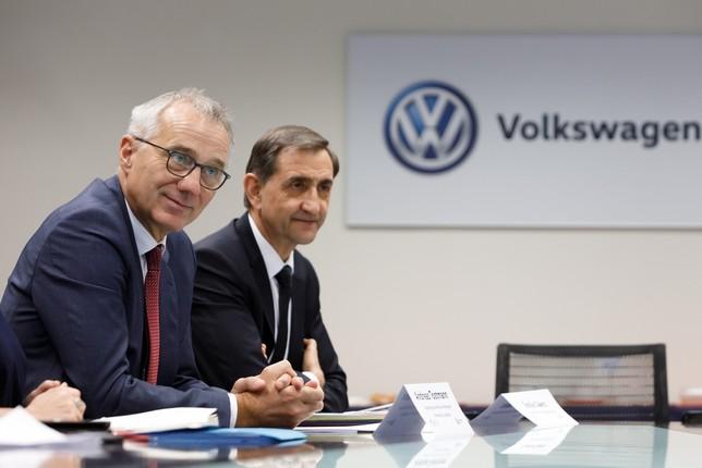 "Volkswagen descarta ""de momento"" un tercer modelo en Navarra"