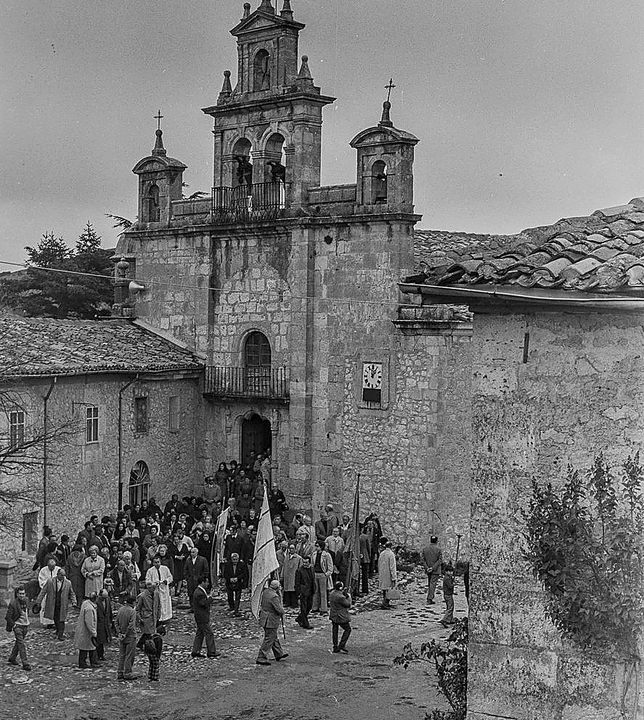 La romería en el santuario de Santa Casilda. Fede
