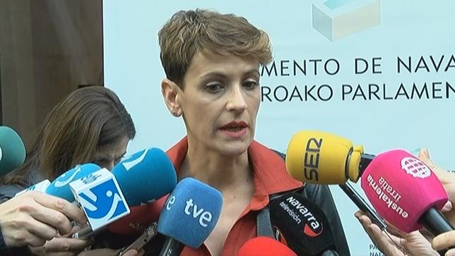 PSN ratifica a Bildu, PP y Vox como sus únicas líneas rojas