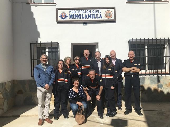Protección Civil de La Jara, Minglanilla y Tarancón mejoran