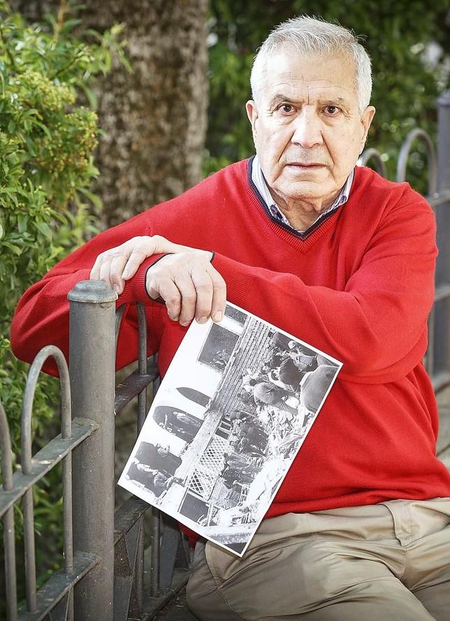 Juan José López aún recuerda el triste suceso. Rosa Blanco