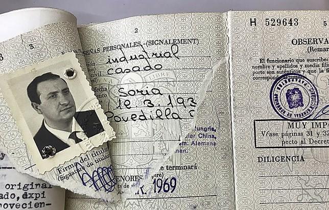 Pasaporte retirado a Jesús Gil.