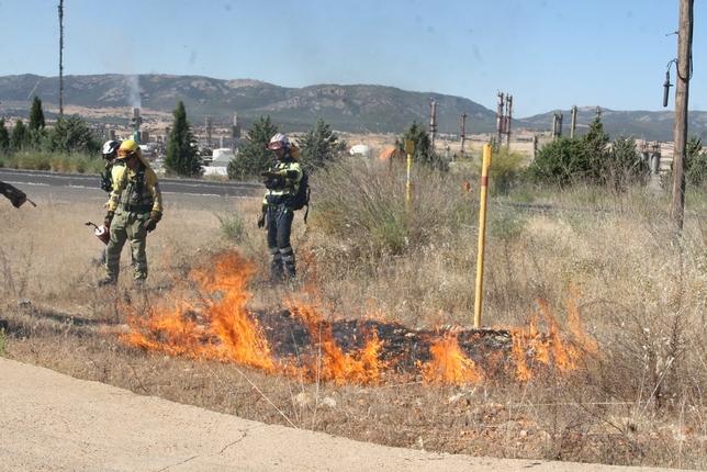 Fuego para combatir el fuego