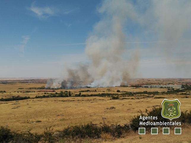 Incendio en Trescasas