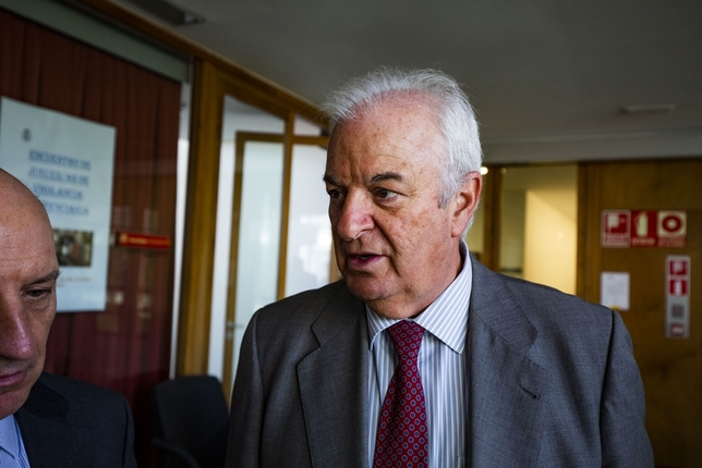 Antonio Moreno de la Santa, magistrado del Juzgado de Vigilancia Penitenciaria número 1 de  Castilla-La Mancha Rueda Villaverde