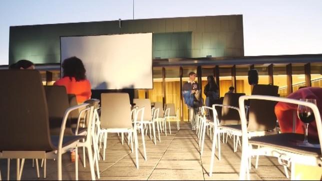 Baluarte inaugura su nuevo ciclo de cine en la terraza