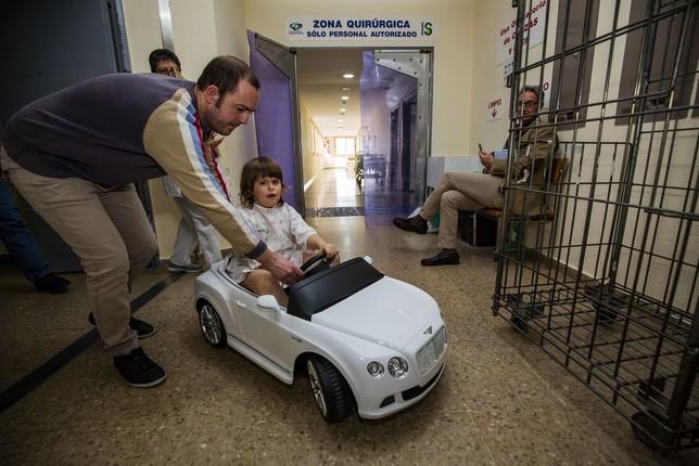 Un divertido viaje hasta el quirófano Rueda Villaverde