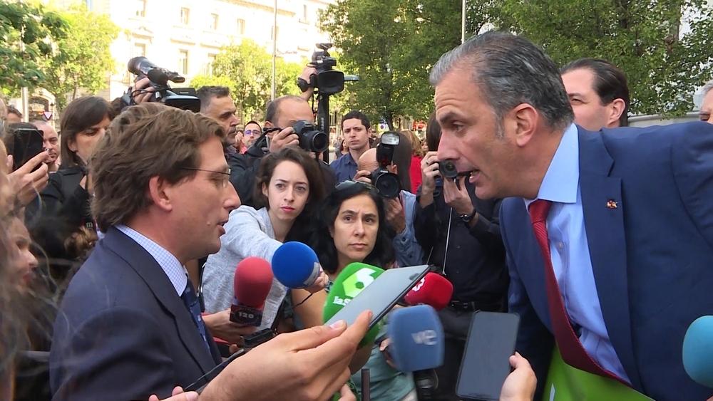 PP y Vox se encaran en Madrid por la violencia machista