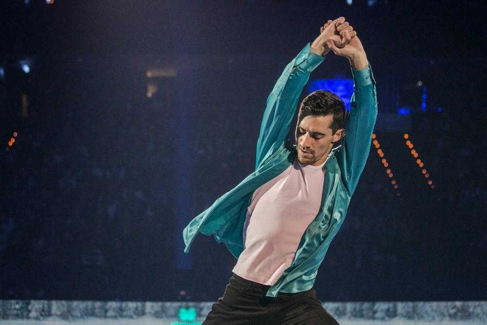 Javier Fernández fusiona patinaje y música en 'Revolution on Ice'