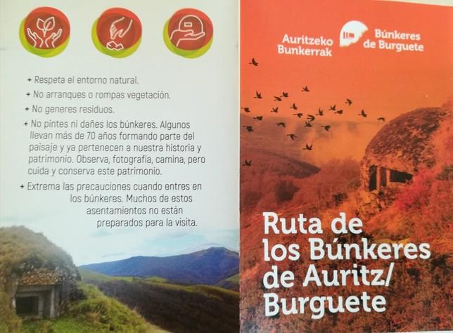 Auritz-Burguete estrena el documental los búnkeres de Franco