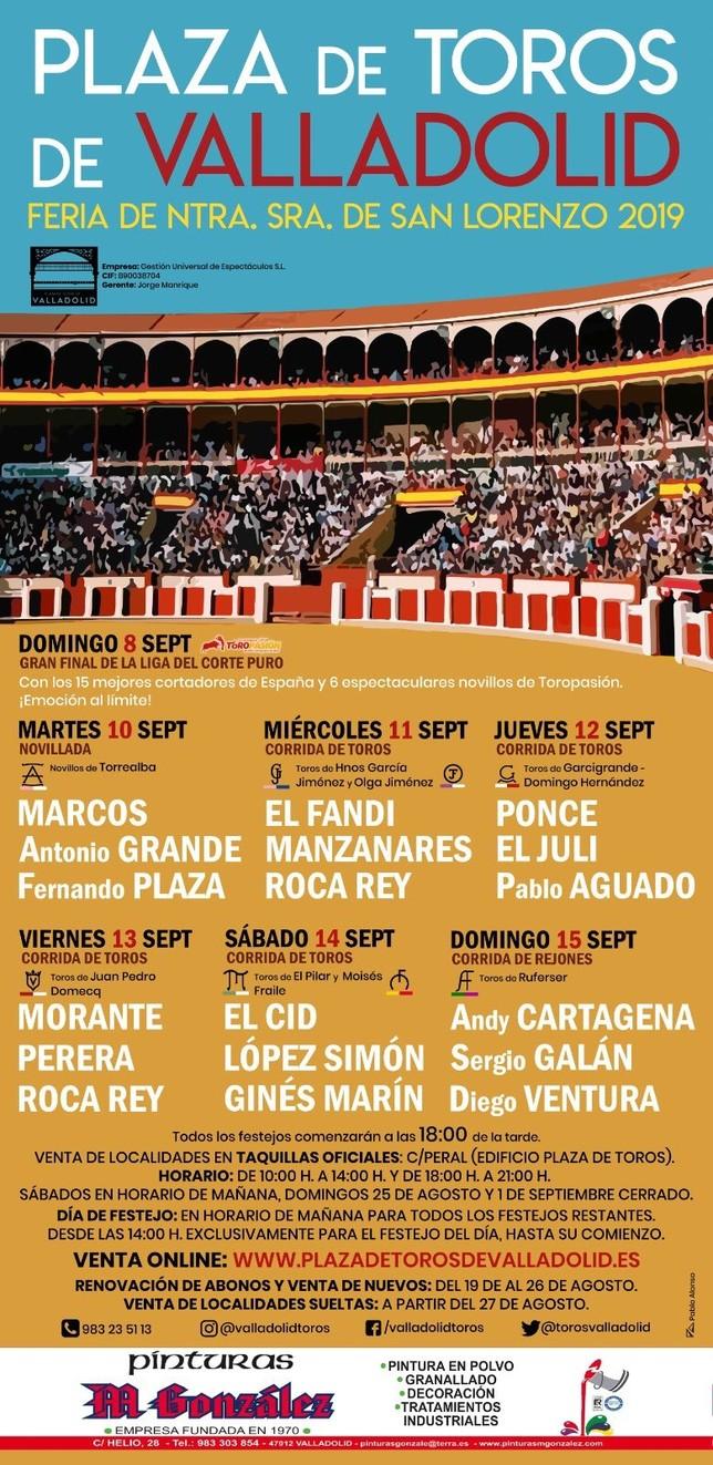 Roca Rey, El Juli, Morante y Ponce, en la Feria taurina