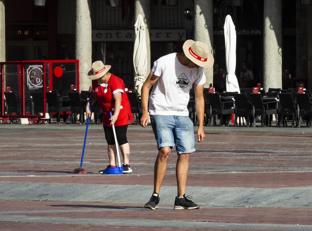 Ola de calor en Valladolid