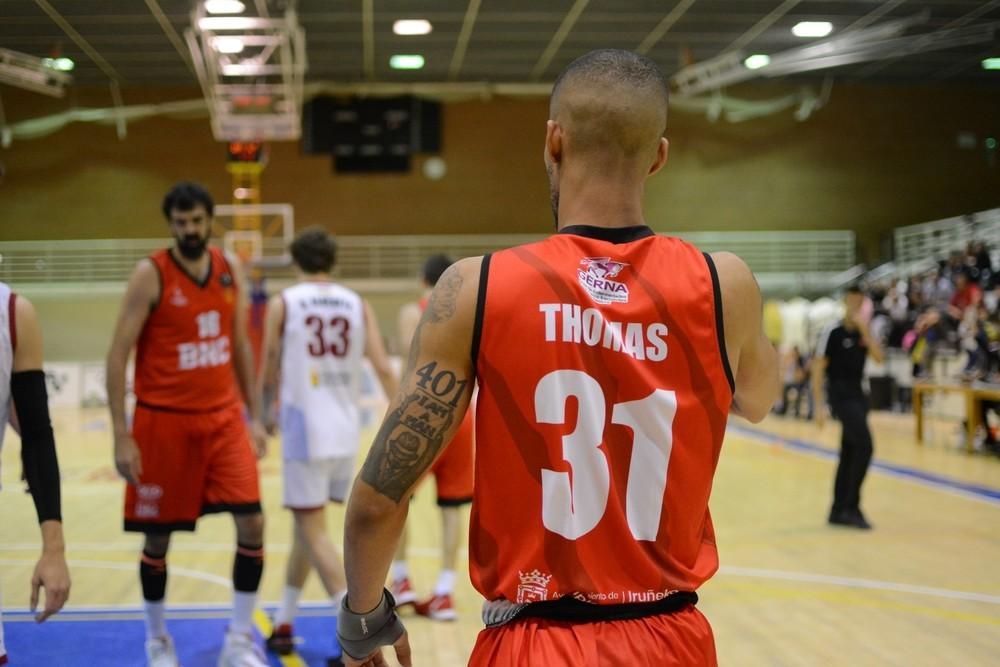Thomas, en un partido anterior.