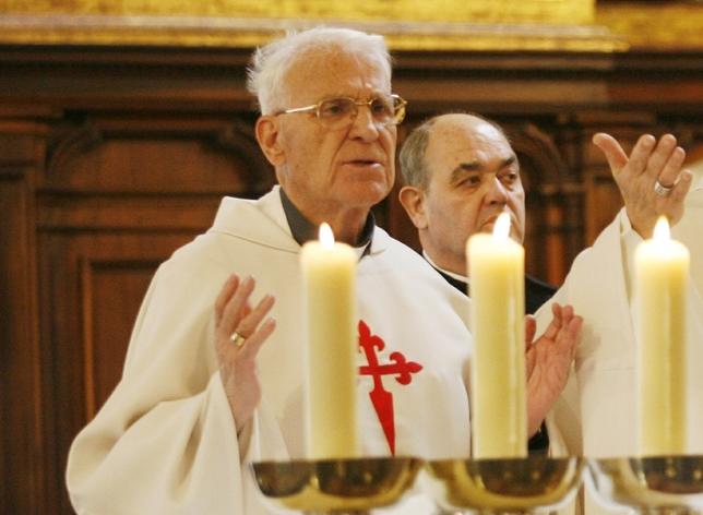Obispo emérito Rafael Torija Fotos Rueda Villaverde