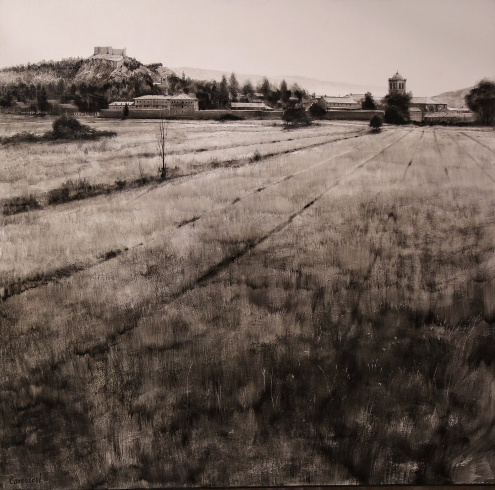 Eduardo Alsasua gana el Concurso de Pintura de Aguilar