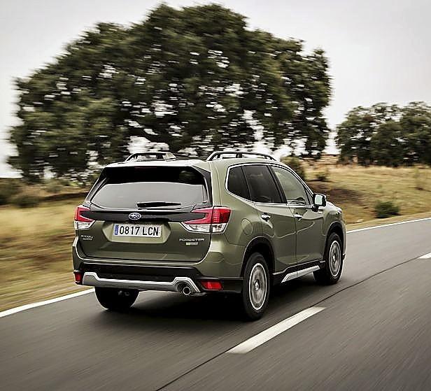 Forester Eco Hybrid: más seguro, más Subaru que nunca