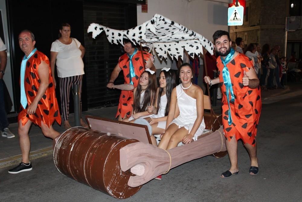 Coche de 'Los Picapiedra' del grupo Sesparke, de nuevo ganador esta edición del Concurso de Carrozas.