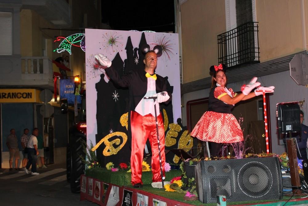 'Fantasía Disney', de la peña Mayor 2019, que consiguió el cuarto premio.
