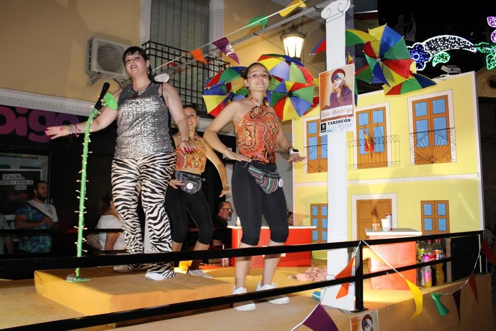 Carroza ambientada en 'El Mañaneo', del grupo Los Jartibles.