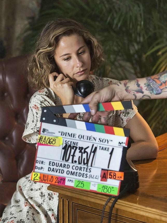 La Tribuna ofrece por primera vez la imagen de Irene Escolar caracterizada como Amelia Garayoa, protagonista de la historia.