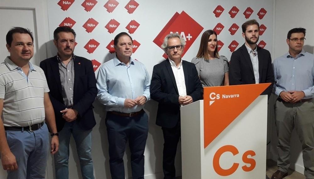Ciudadanos repetirá con Navarra Suma en caso de elecciones