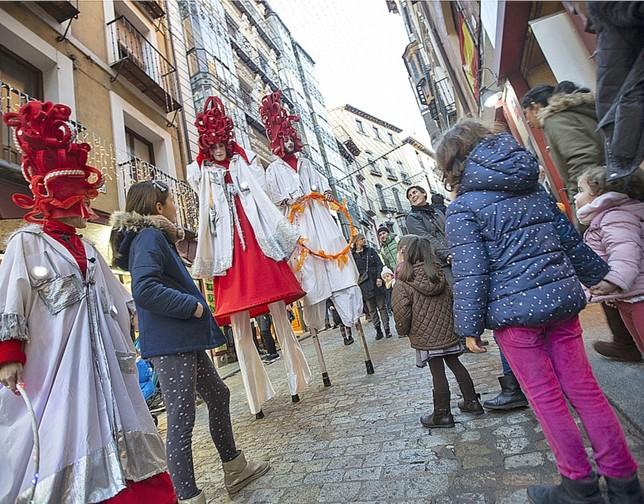 Los mensajeros de los Reyes Magos pasean por Toledo Yolanda Redondo