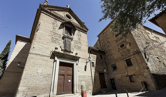 Fachada del convento de las Carmelitas Descalzas. Huertas Fraile