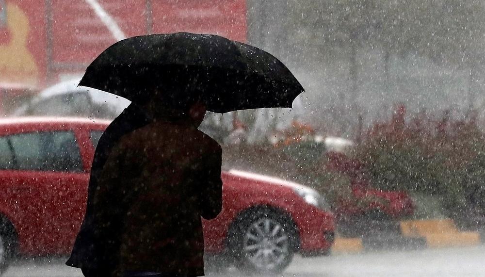 Alerta amarilla por fuertes lluvias en gran parte de Navarra