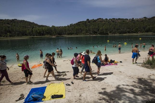 Ruidera abandera el incremento del turismo rural en verano