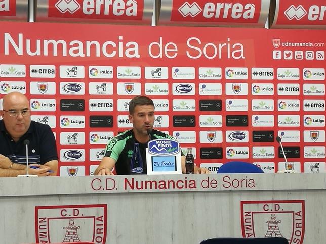 Luis Carrión promete valentía en su primer partido oficial