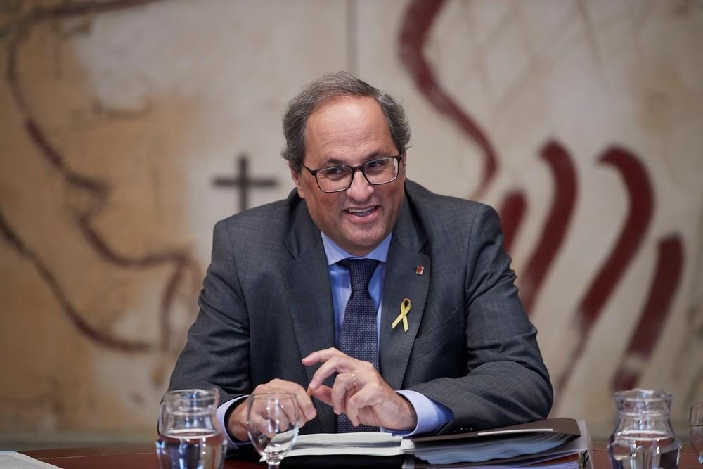 El TSJC aplaza el juicio a Torra hasta noviembre