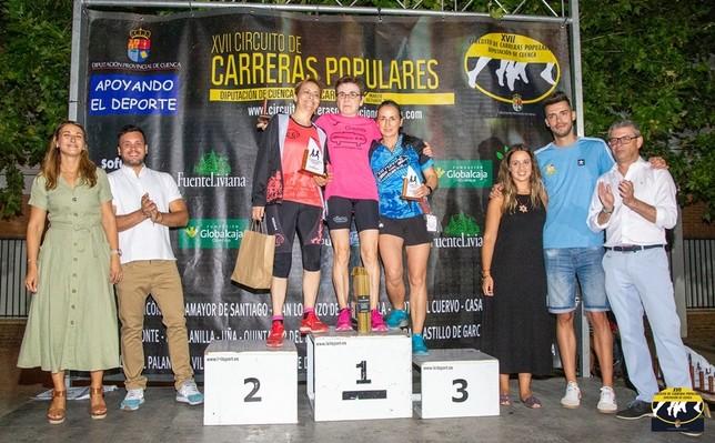 López y Magan ganan la carrera nocturna San Gil de Motilla