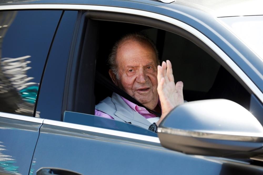 El Rey Juan Carlos recibe el alta