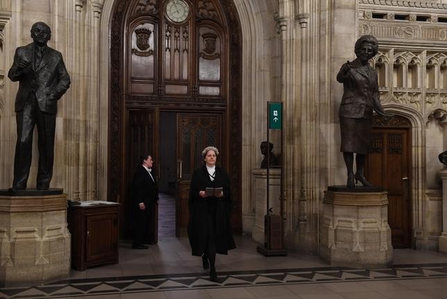 Ley para evitar un 'brexit' sin acuerdo JESSICA TAYLOR / UK PARLIAMENT /