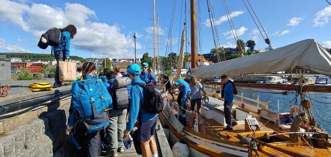 Cruzando Noruega rumbo a la aventura