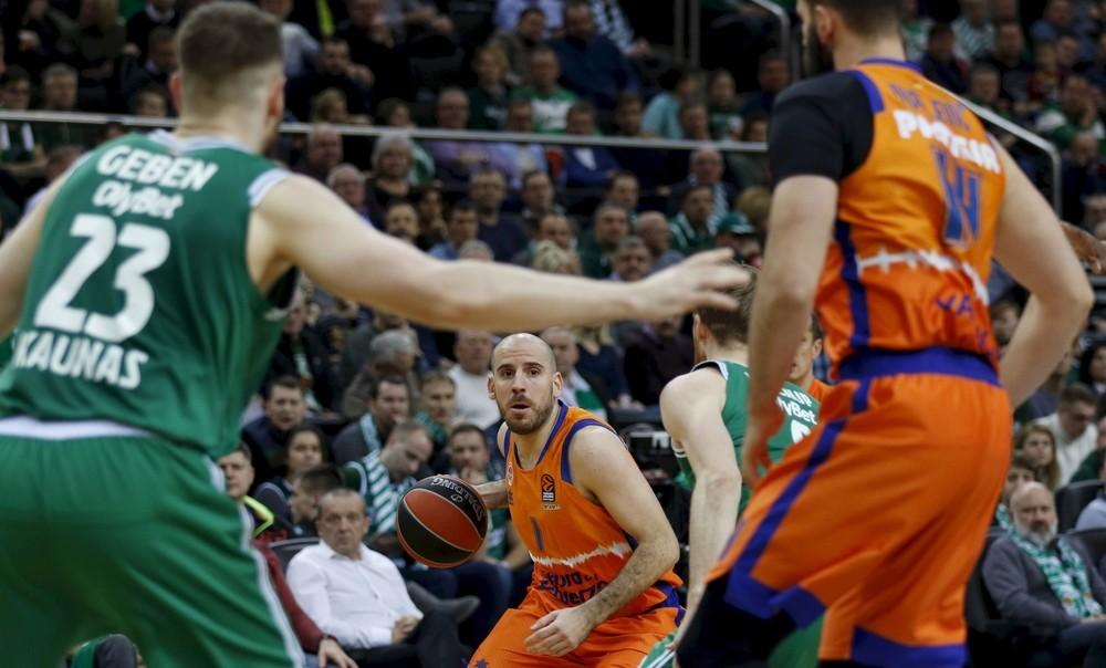 El Valencia Basket sale de Kaunas con una victoria