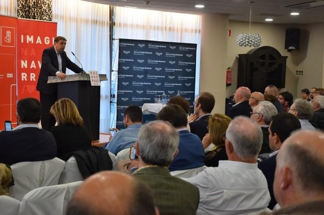 Planas analiza en Tudela el futuro del sector agrícola