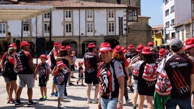 Fiesta del Athletic en Espinosa de los Monteros