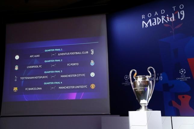 El Barcelona se enfrentará al United en cuartos de final DENIS BALIBOUSE