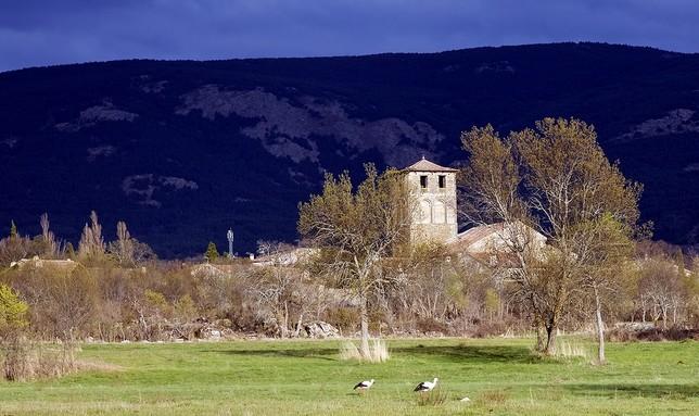 Sotosalbos, al pie de la Sierra de Guadarrma, es refugio y zona de caza de diversas especies protegidas.