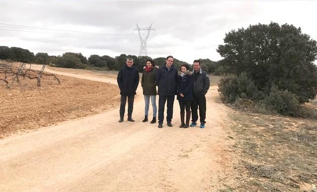 Diputación y Junta destinan 112.000 euros a nueve carreteras Miguel Ángel Ramón Duque