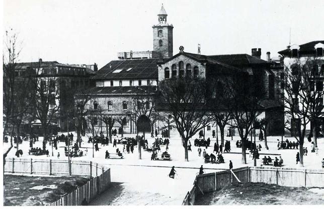 Pamplona mira a la historia del Paseo de Sarasate