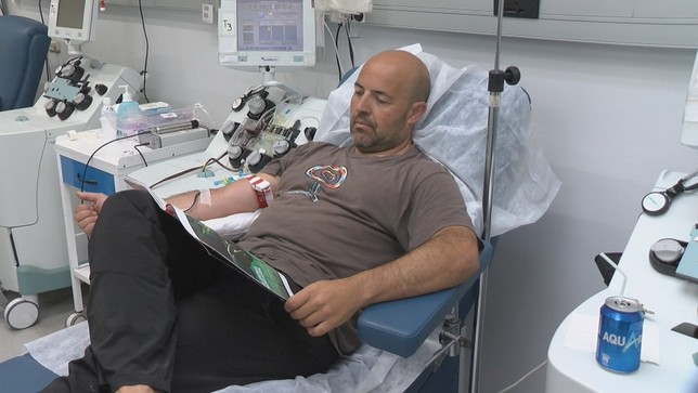 Las donanciones de sangre en Navarra disminuyen en verano
