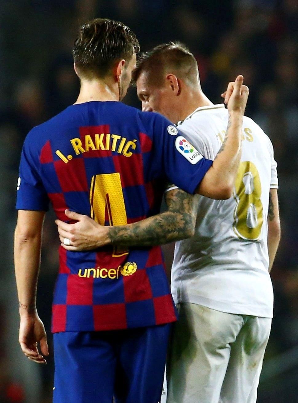 Barça y Real Madrid empatan en un Clásico muy intenso