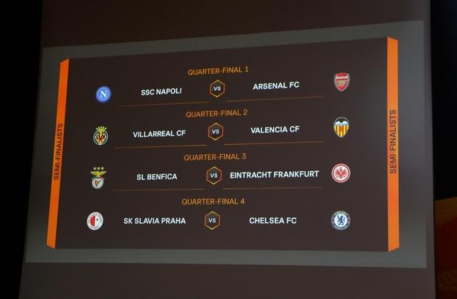 Duelo español en cuartos de la Liga Europa DENIS BALIBOUSE