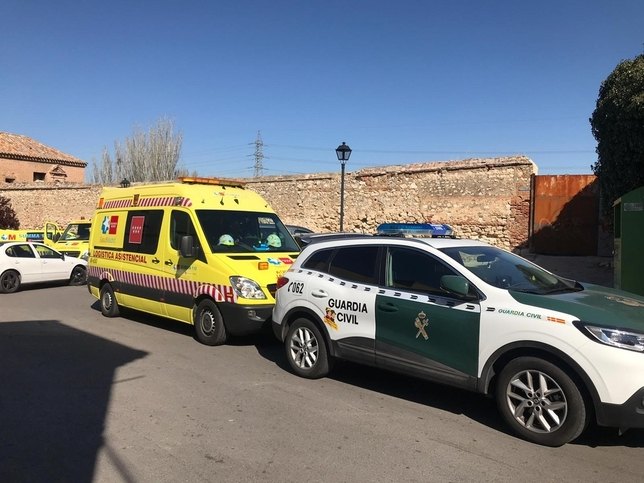 Un hombre mata a su mujer en Loeches y después se suicida EMERGENCIAS 112 COMUNIDAD DE MAD