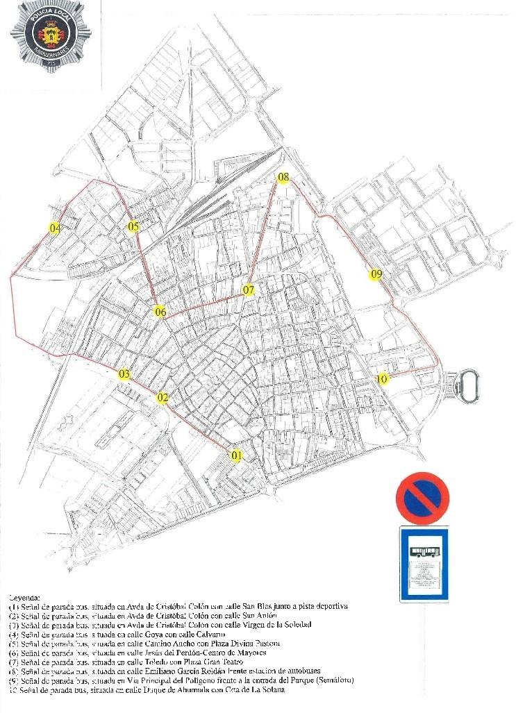 Normalidad y nueva ruta de autobús en el inicio del curso