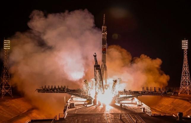Tres nuevos miembros en la Estación Espacial Internacional